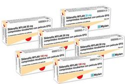 SILDENAFIL ACTAVIS 50 mg tabletti, kalvopäällysteinen 1 x 4 fol - akvashop.eu